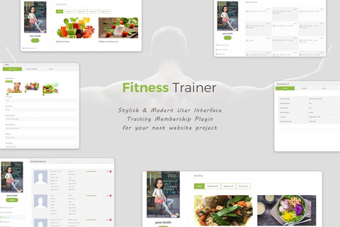 CodeCanyon Fitness Trainer