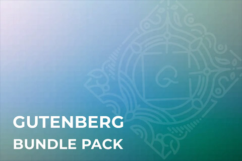 CodeCanyon Gutenberg Bundle Pack
