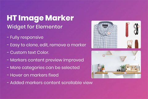 CodeCanyon HT Image Marker for Elementor