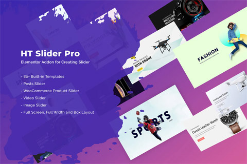 CodeCanyon HT Slider Pro For Elementor