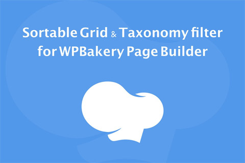 CodeCanyon Sortable Grid & Taxonomy filter