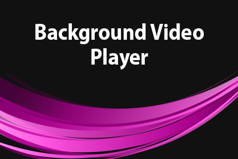 JoomClub Background Video Player