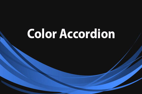JoomClub Color Accordion