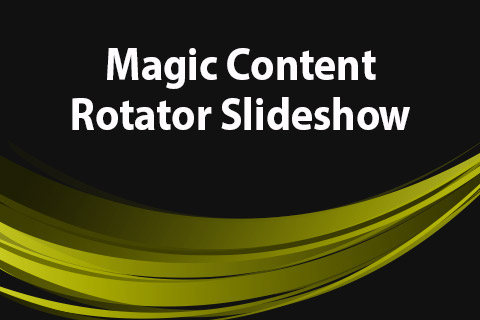 JoomClub Magic Content Rotator Slideshow