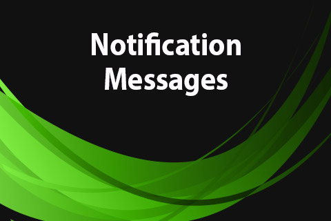JoomClub Notification Messages
