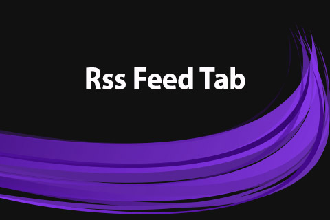 JoomClub Rss Feed Tab