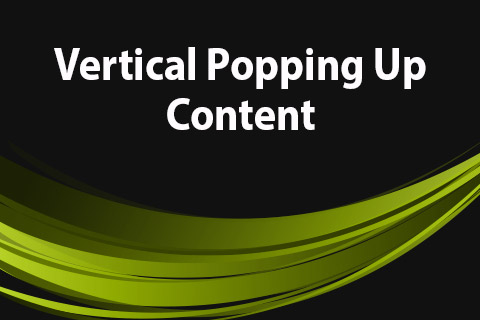 JoomClub Vertical Popping Up Content