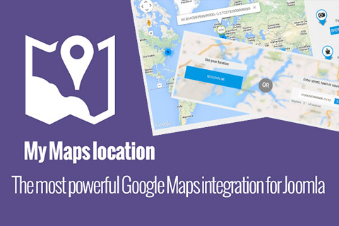JoomUnited My Maps location