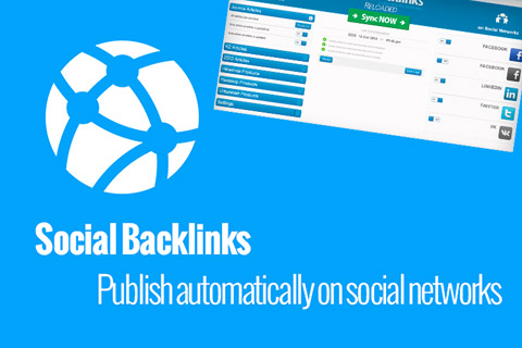 JoomUnited Social Backlinks