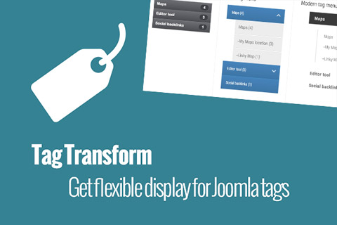 JoomUnited Tag Transform