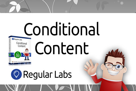 Regular Labs Conditional Content Pro