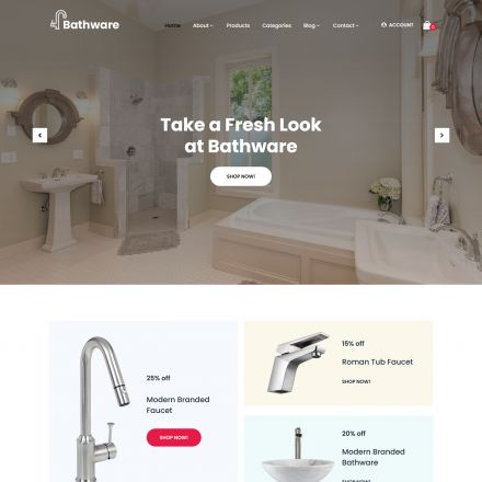 SKT Themes Bathware