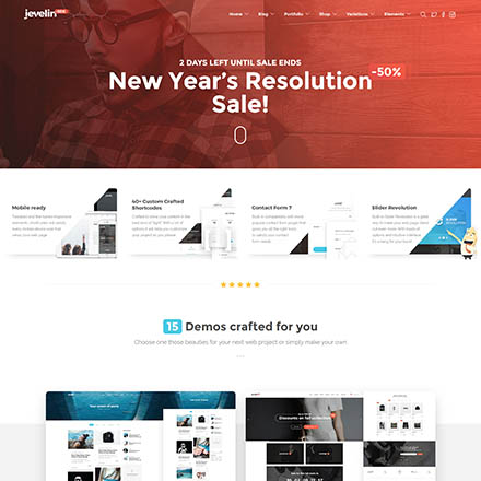 ThemeForest Jevelin