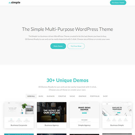 ThemeForest The Simple