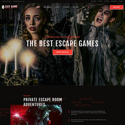 ThemeForest Exit Game