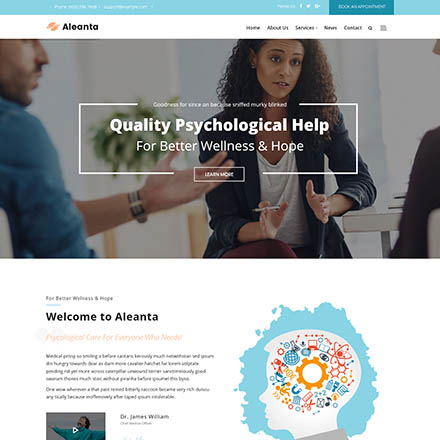 ThemeForest Aleanta