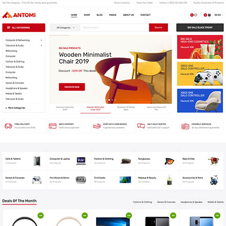 ThemeForest Antomi