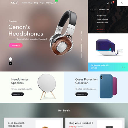 ThemeForest Cize