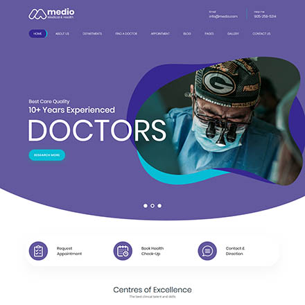 ThemeForest Medio