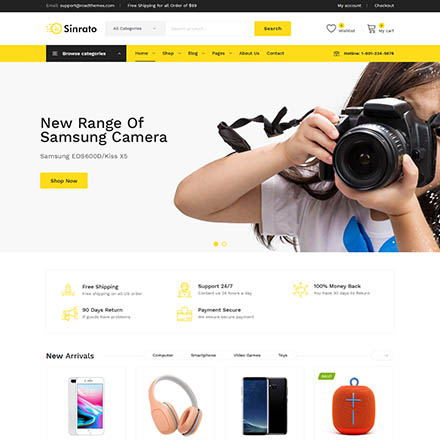ThemeForest Sinrato