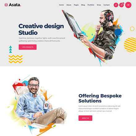 ThemeForest Asata
