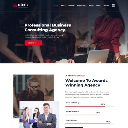ThemeForest Bizzix