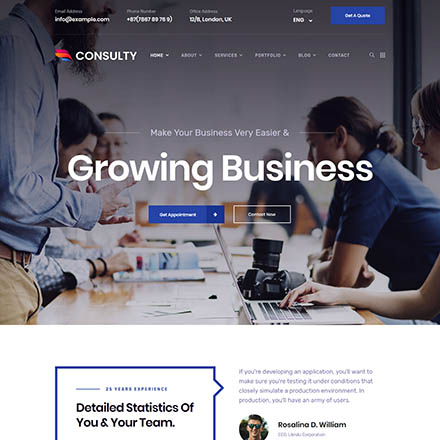 ThemeForest Consulty