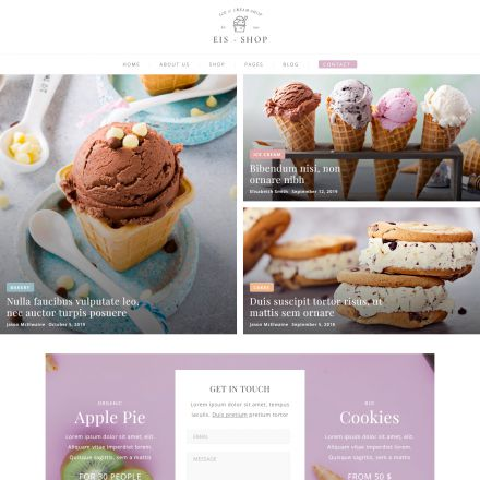 ThemeForest Eis