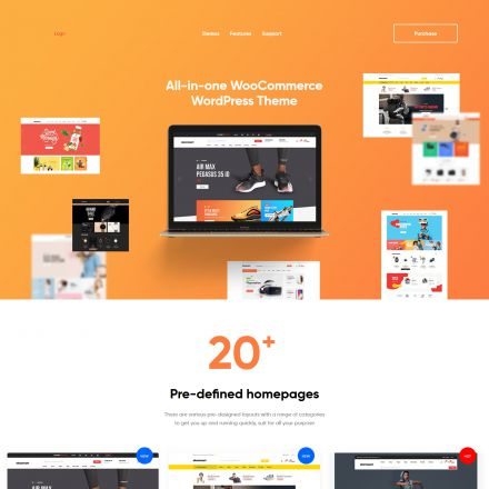 ThemeForest Ekommart
