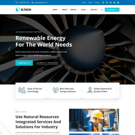 ThemeForest Eltron