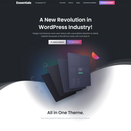 ThemeForest Essentials