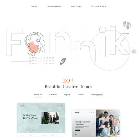 ThemeForest Fennik