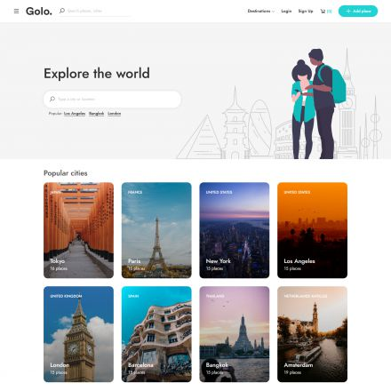 ThemeForest Golo