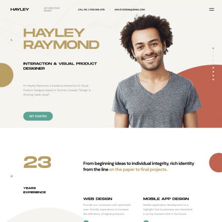 ThemeForest Hayley