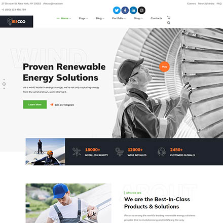 ThemeForest iRecco