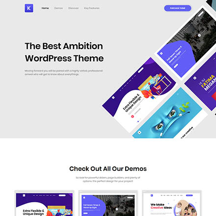 ThemeForest Kriativ