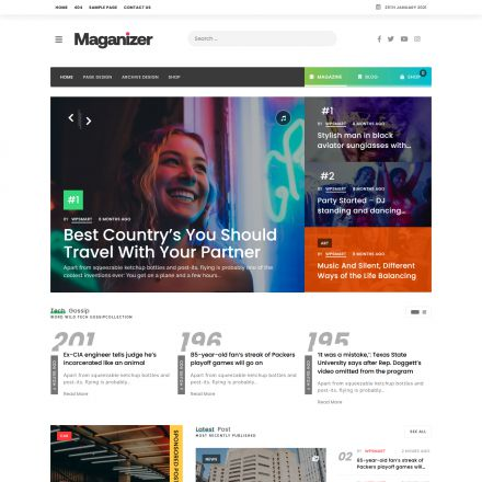 ThemeForest Maganizer