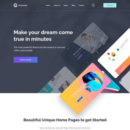 ThemeForest Octavian
