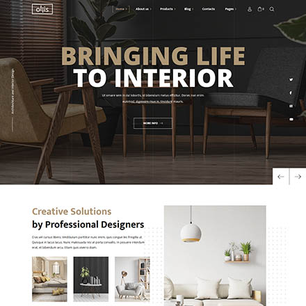 ThemeForest Ollis