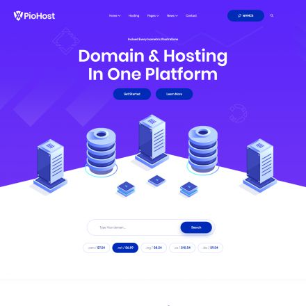 ThemeForest Piohost