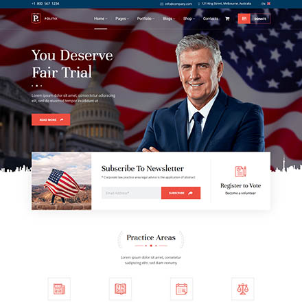 ThemeForest Politix