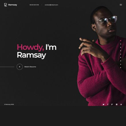 ThemeForest Ramsay