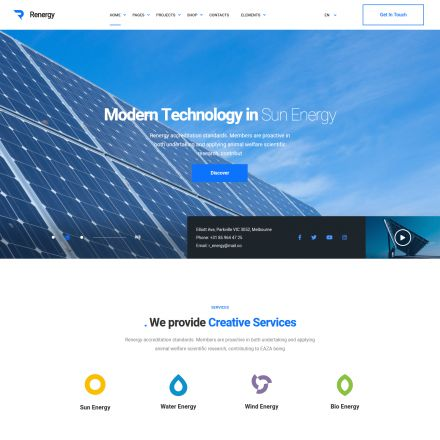 ThemeForest Renergy