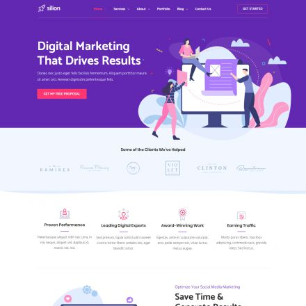 ThemeForest Silion