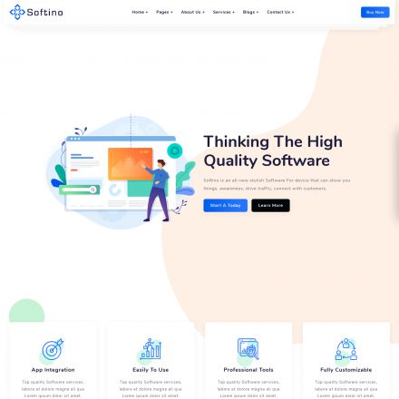 ThemeForest Softino