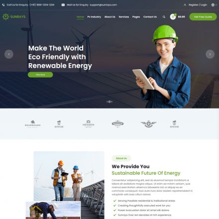 ThemeForest Sunrays