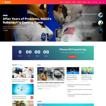 ThemeForest The Next Mag