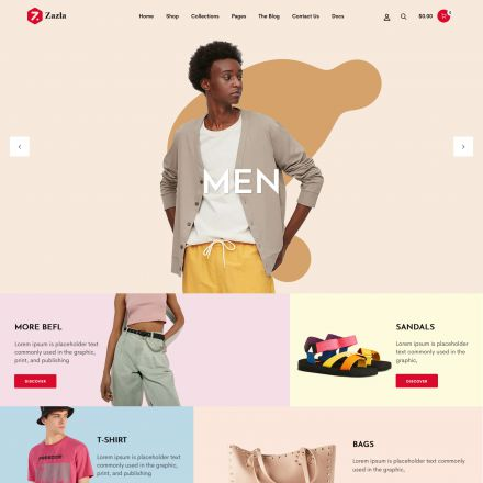 ThemeForest Zazla