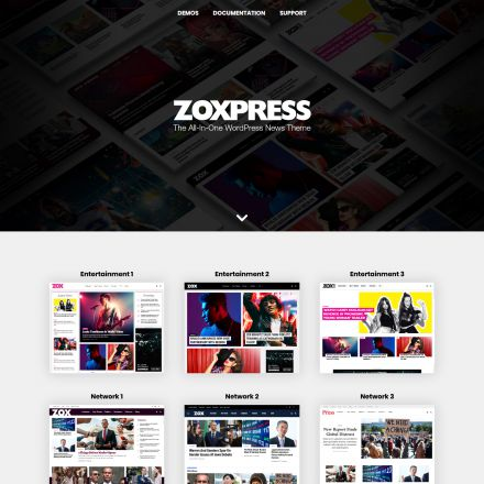 ThemeForest ZoxPress