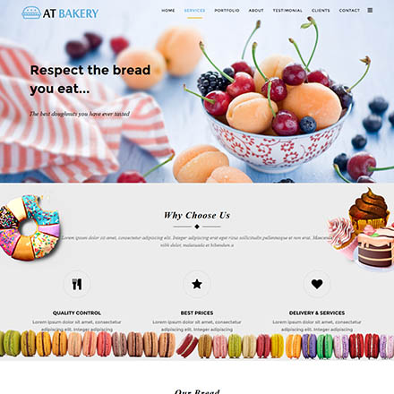AGE Themes Bakery Onepage